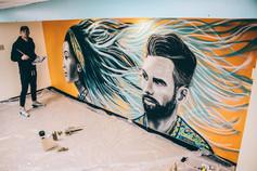 Locker Room Mural