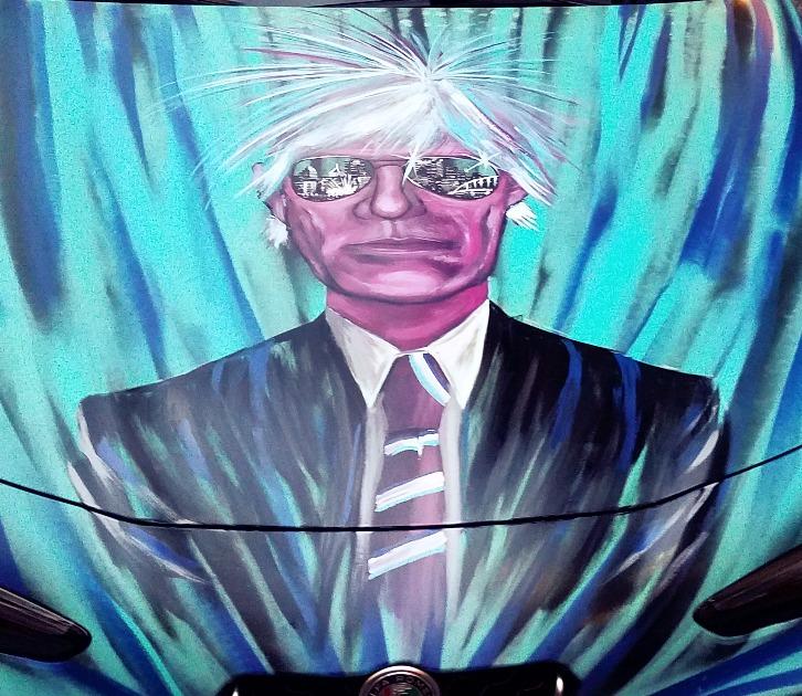 Andy Warhol Alfa Romeo Art Car