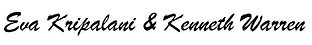Eva Kripalani & Kenneth Warren logo.png