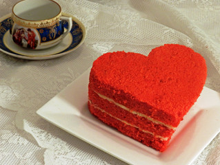 Valentines Gift Idea: Personalised Valentines Cakes, Cupcakes and Cookies
