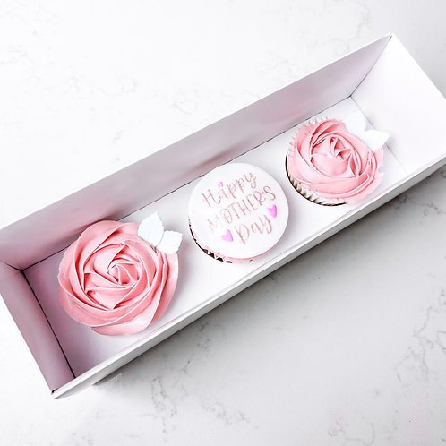 Mother's Day Cupcake gift box