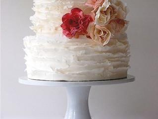 Wedding Cake Trend: Ruffles