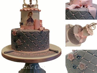 Princess Birthday Cake for a 3 year old girl