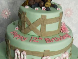 Short notice cake: 12 year old girl's horse themed birthday
