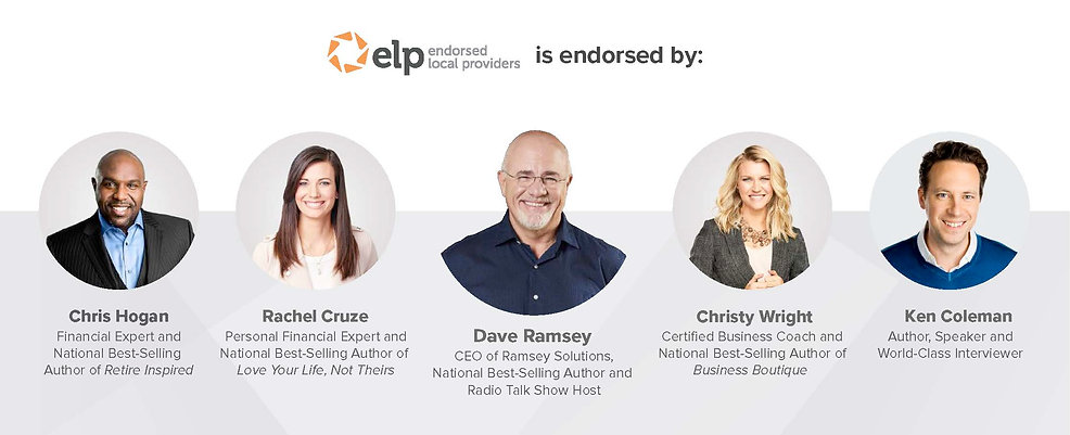 Dave Ramsey Team Endorsed Local Provider