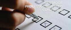 GESTÃO DE PROCESSOS SELETIVOS E CONC