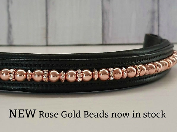 Rose Gold Browband