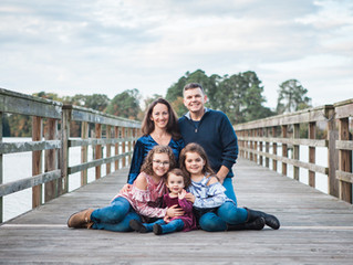 Fall Family Session - Bethel Park, Hampton, Virginia
