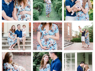 Family Maternity Session ~ Historic Yorktown, Virginia