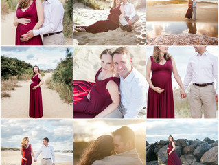 Fort Story, Virginia Beach Maternity Session