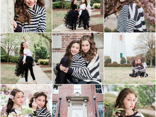Sweet Sisters at Fort Monroe,Virginia