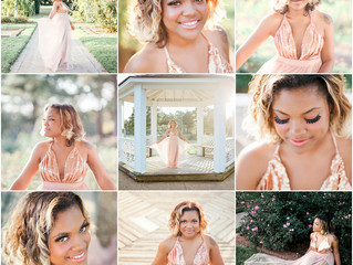 Beautiful Miss R and the Huntington Rose Garden