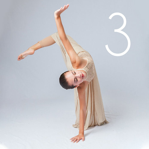 THREE Photo Sessions - Dance/Aerial Class