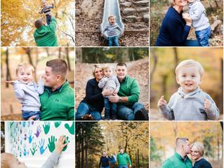 Fall Family Session ~ Windsor Castle Park, Smithfield, Virginia