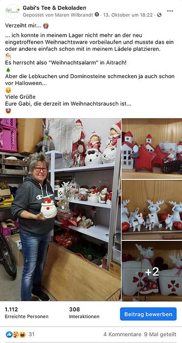 Gabi's Tee & Dekoladen - Agentur Donau
