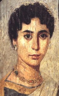 The Fayum mummy portraits