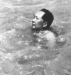 Khrushchev in water wings