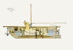 Rescuing Napoleon by submarine
