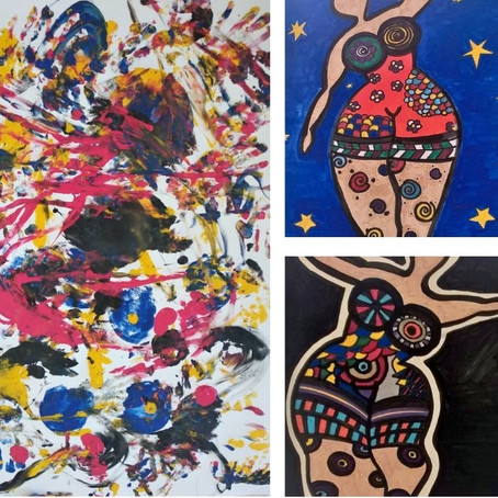 La galerie d'art de Stella Staudt