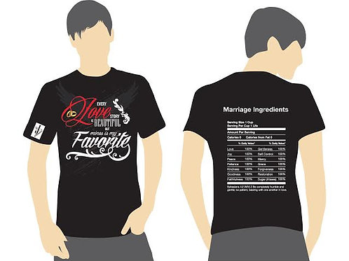 Marriage Ingredients T- Shirt