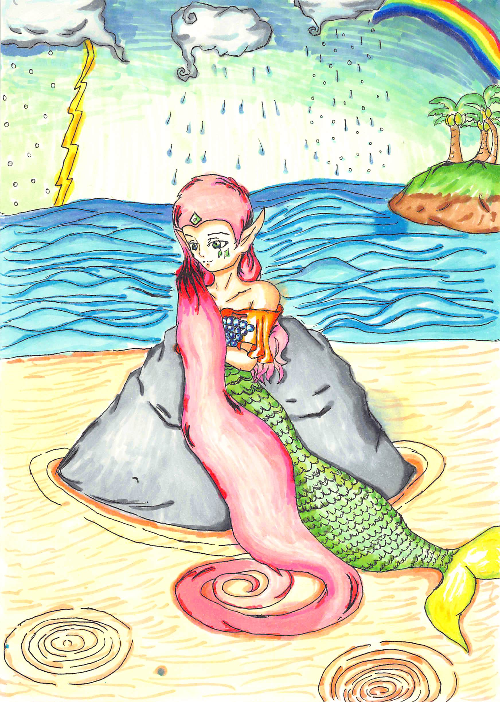 伝説の人魚