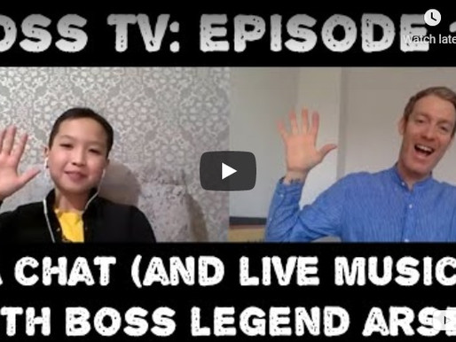 BOSS TV: Episode 14 - A Chat (and Live Music) With BOSS Legend Arsen