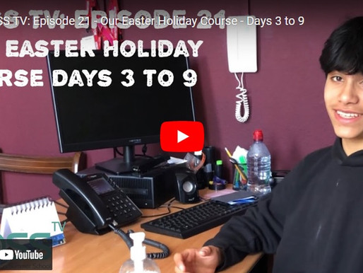 BOSS TV: Episode 21 - Our Easter Holiday Course – Days 3 to 9