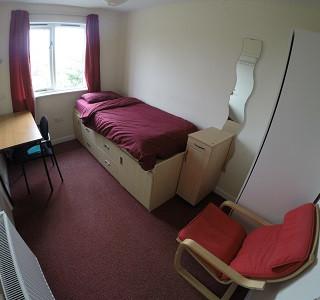 Single En Suite Room, Rowling House