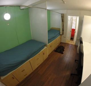 Twin En Suite Room, Kipling House