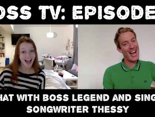BOSS TV: Episode 4 - A Chat With BOSS Legend and Singer/Songwriter Thessy