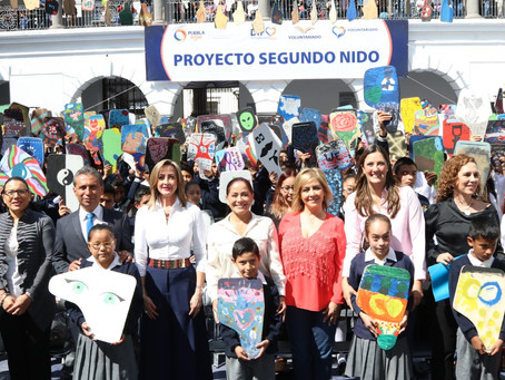 Dinorah Lopez de Gali fomenta el arte y los valores en las escuelas