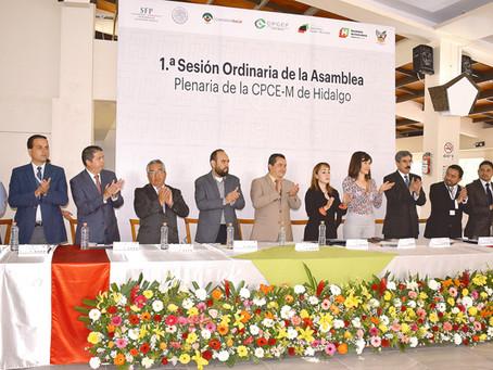 Sesionaron contralores municipales en Hidalgo