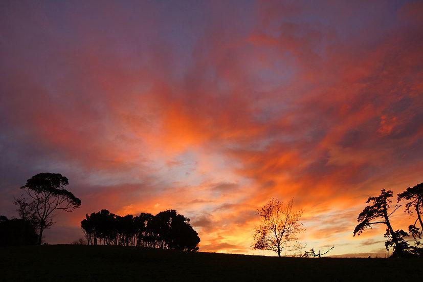 Sunrise at Churchill Park
