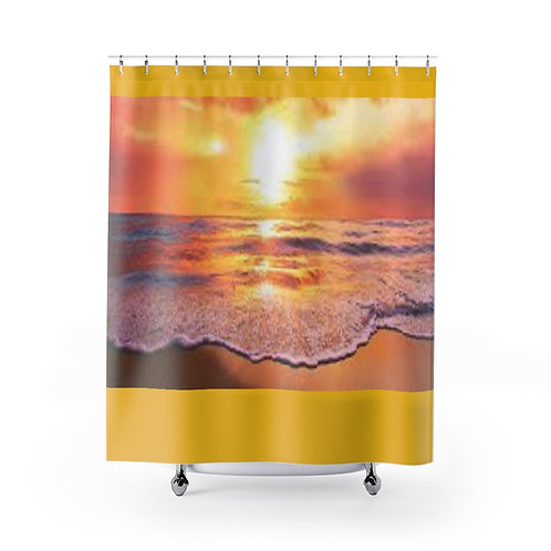 Sun Set Shower Curtains