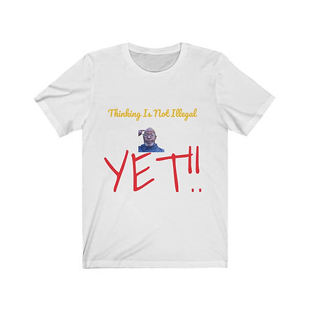 Thinking Is Not Illegal #2 Short Sleeve Tee