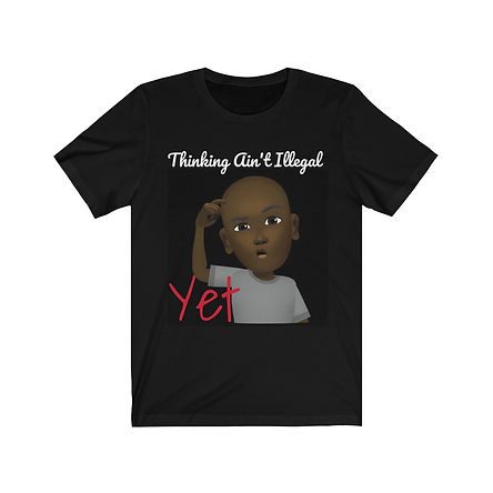 Thinking Ain't Illegal Tee