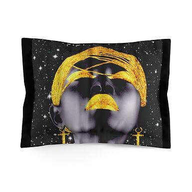 Black Goddess Pillow Sham