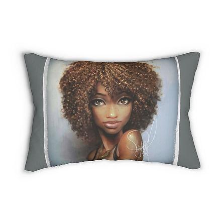 African Maiden Lumbar Pillow