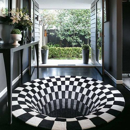 3D Round Carpets