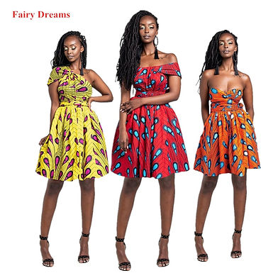 Women's African Style Dresses