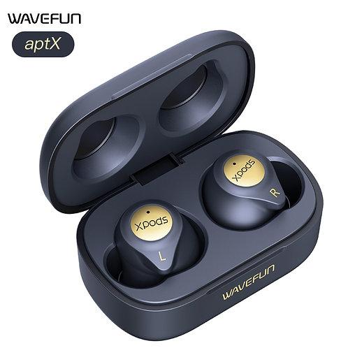 Wavefun XPods 3T Bluetooth Earphone AptX AAC HIFI IPX7