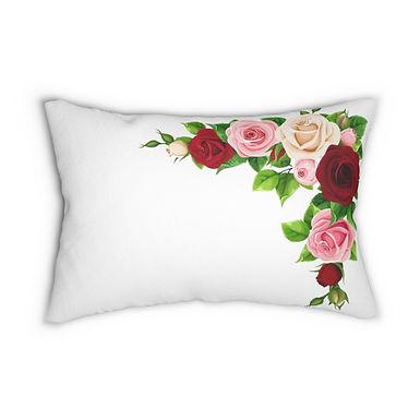 Rose Bud Lumbar Pillow