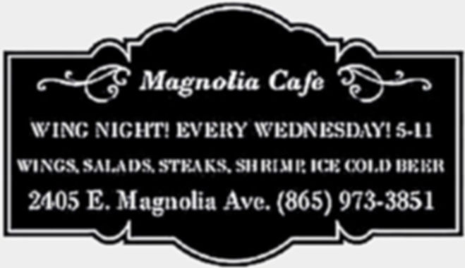 The Magnolia Cafe is a well- established full-service restaurant specializing in good food and good drinks.With moderate prices and catering service.
