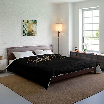 Personalized Comfy Comforter