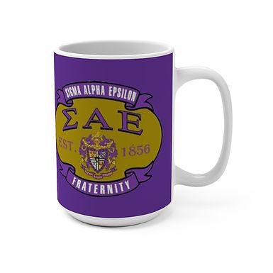 Sigma Alpha Epsilon Mug 15oz