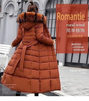 Winter Women's Down Coat
