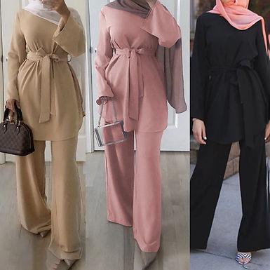 LSM007 Arabian Muslim Fashion Women Design Abayas Muslim Clothing Embellished