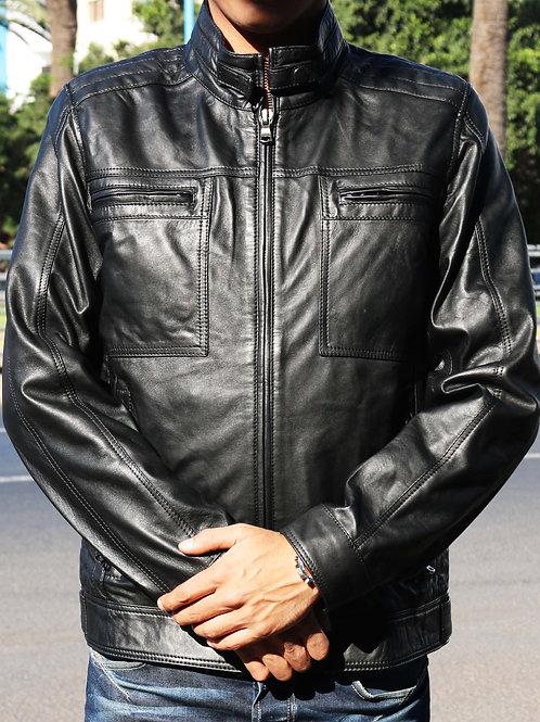 Artak- Leather Genuine Jacket for Men