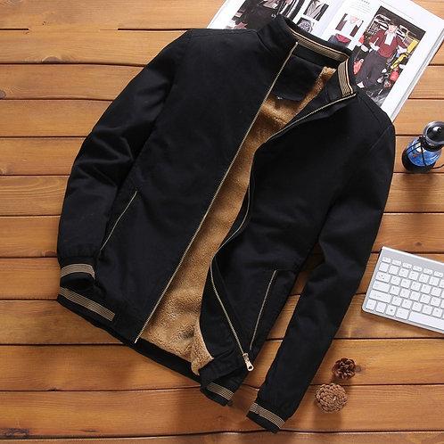 Mens Plus Size Casual Jacket Men Bomber
