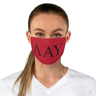 LAMBDA ALPHA UPSILON Face Mask